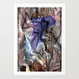 Curing Rationality  Art Print