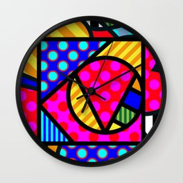 Lucky Love SQuare Wall Clock