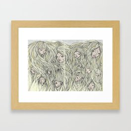 Cilium Framed Art Print