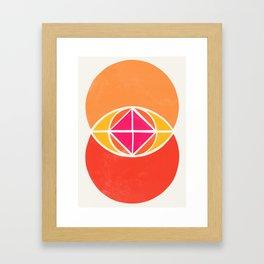 Vesica Piscis 3 Framed Art Print