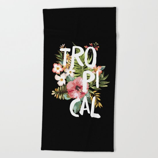 Tropical II Beach Towel