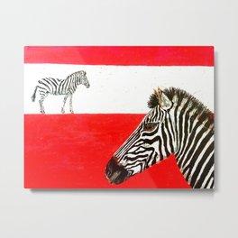 Strip of Stripes Metal Print