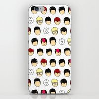 kpop iPhone & iPod Skins featuring noface by chegyul