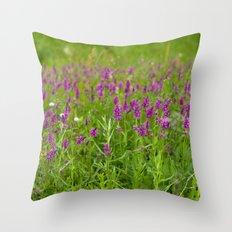 Summer Field 4164 Throw Pillow