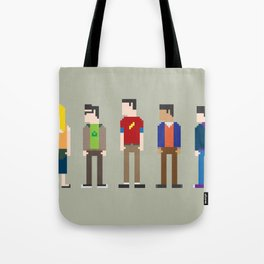 The Big Bang Theory 8-Bit Tote Bag
