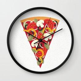 PIZZA POWER - VEGO VERSION Wall Clock