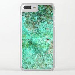 Moment of Epiphany: Emerald  Jewel Version Clear iPhone Case