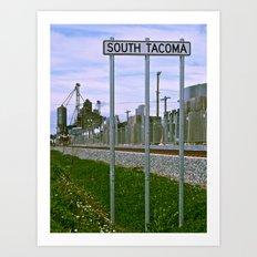 Historic South Tacoma Art Print