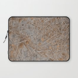 Beach Ice Texture Laptop Sleeve