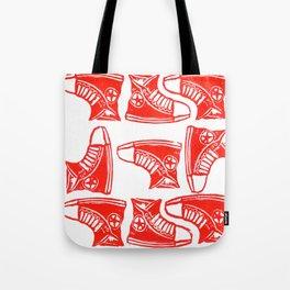 Chucks Away! Tote Bag