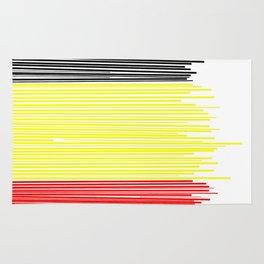 Belgian flag Rug