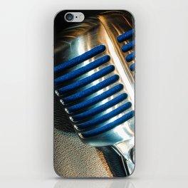 Microphone iPhone Skin
