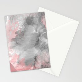 GreyPink Watercolour Stationery Cards