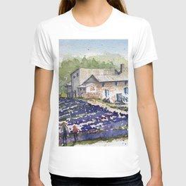 Fields of Lavender T-shirt
