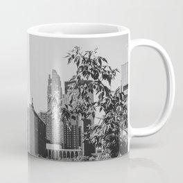 Minneapolis Minnesota Architecture Black and White Coffee Mug