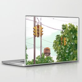 Walking the whole darn city Laptop & iPad Skin