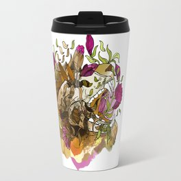 It's what's on the inside that really counts… Travel Mug