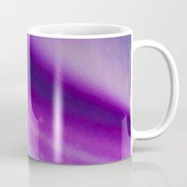 Purple Blue Cool Tone Geode Rock Stone Crystal Fine Art Print Coffee Mug