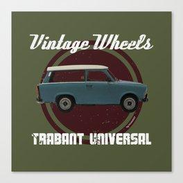 Vintage Wheels: Trabant 601 Universal Canvas Print