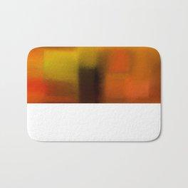 Colorfield (Orange/Red/Green) Bath Mat