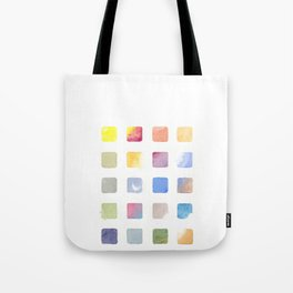 color chart Tote Bag