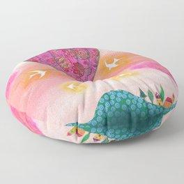 Pink Balloons Floor Pillow