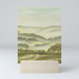 Misty Green Mini Art Print