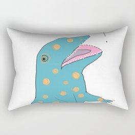 he scream Rectangular Pillow