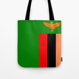 Flag of Zambia Tote Bag