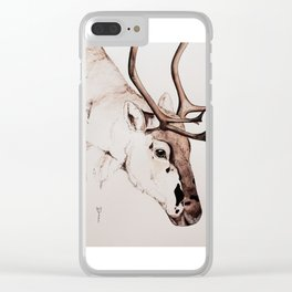 Reindeer | Viktor Clear iPhone Case