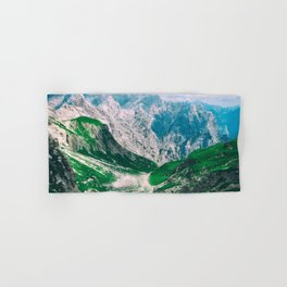 MOUNTAINS - VALLEY - PHOTOGRAPHY Hand & Bath Towel