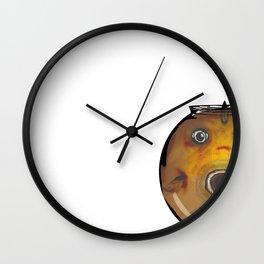 Fat Fish, Little Bowl Wall Clock