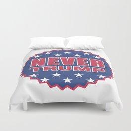 Never Trump  Duvet Cover