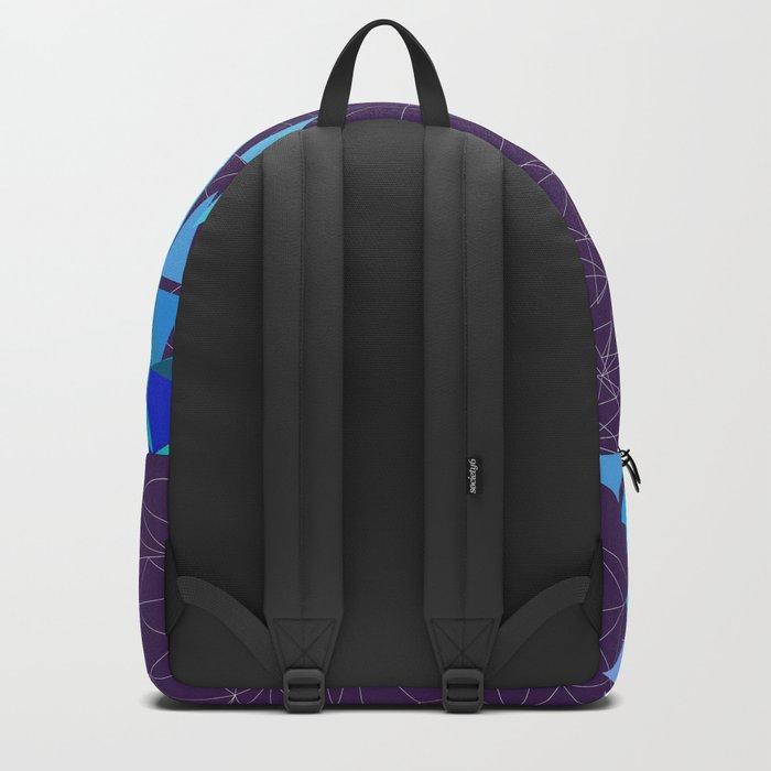Flamingo geometry Backpack