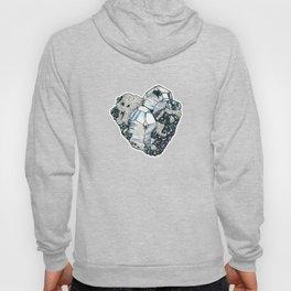 Hematite Crystal Cluster Hoody