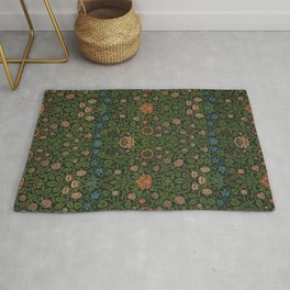 Violet and Columbine - William Morris Rug