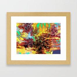 deep jungle II Framed Art Print