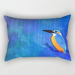 Common Kingfisher (Alcedo atthis) Rectangular Pillow