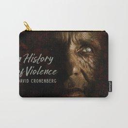 A History of Violence, David Cronenberg movie poster, Viggo Mortensen, Ed Harris Carry-All Pouch