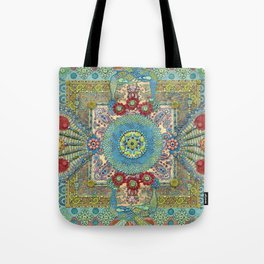 Guardians of a Sacred Spot Tote Bag
