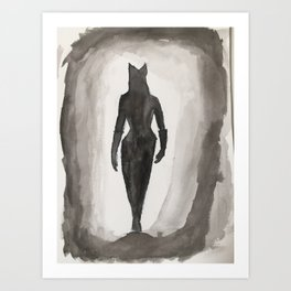 Catwomen Art Print