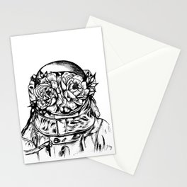Head On The Moon Stationery Cards