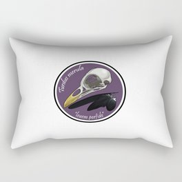 Turdus merula Rectangular Pillow