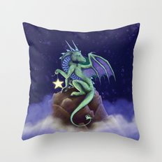 Dragon Star Throw Pillow