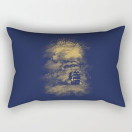 The End of the World Rectangular Pillow