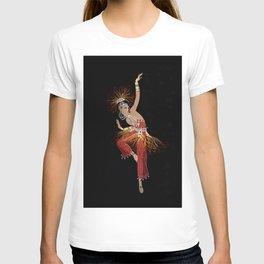 """""""Firebird Dancer"""" Art Deco Image T-shirt"""