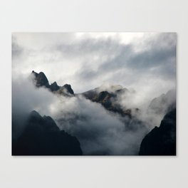 Shrouded in Mystery Canvas Print