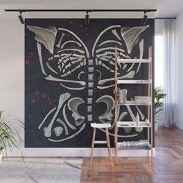 Butterfly Skeleton Wall Mural