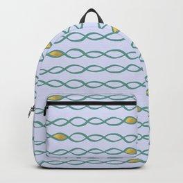 Baesic Golden Mermaid Chain Backpack