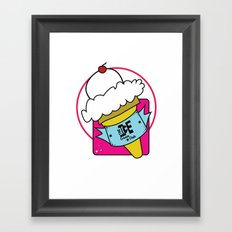 The Ice Cream Club Framed Art Print